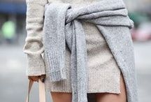 THE IT KNITS / From cosy blanket capes to ribbed cardigans, this is the knitwear you need right now. http://goo.gl/fZWQL