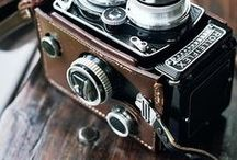 Vintage Cameras / Snapshots from days gone by.  / by Melissa Stephens