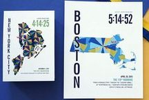 RUNNING // Marathoner Maps / Personalized Marathoner Map Prints for runners. Each map includes the runner's time, bib number, name and details about the race. Perfect gifts for Marathon, Half-Marathon and Triathlon Runners. See more at jhilldesign.com