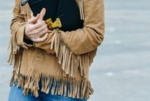 FRINGE BENEFITS / Nail this season's '70s inspired trend with our pick of fringed pieces. http://bit.ly/15TpJKE