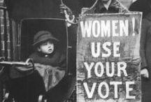 Suffragettes -women rights