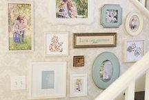 Декор / Рамки, фотографии, тарелки, обои, сочетание цветов, подушки, шторы, детали, аксессуары...