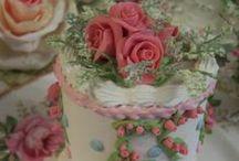 Оформление свадьбы / Свадебный торт, цветы