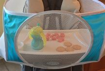 Tray Buddi/ Best New Baby Product / Everything you need to keep sippy cups, food and toys from falling on the floor!