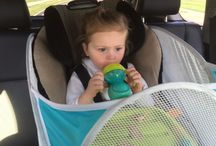 Baby products / Best baby shower gift! TRAY BUDDI keeps everything on the tray! Great in the car on long trips, fits right around the tray on any car seat! Awesome on the highchair! $34.99 www.traybuddi.com