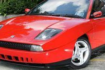 Fiat coupé rosso