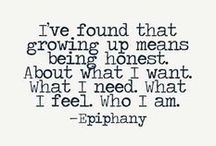LiveLaughGiraffe Growing up quotes / Growing up can be tough pick a mantra to get you through.
