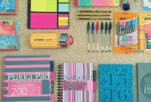 LiveLaughGiraffe Back to School / What do you need to get ready for BTS?  Find it all here study areas, tips, ideas for you locker or bag and more...