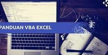 Macro VBA Excel / Panduan Macro VBA Excel Dasar Untuk Pemula