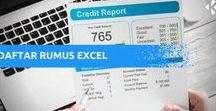 Excel Formulas / Panduan Rumus Excel Berbahasa Indonesia