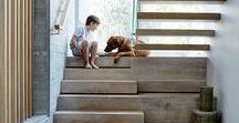 Escaliers en béton / Betonnen trappen