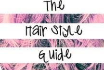 hair styles / by Allye Wuest