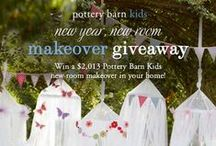 PBK Pinterest Giveaways / by Pottery Barn Kids