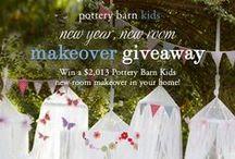 PBK Pinterest Giveaways / by Pottery Barn Kids