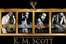 Club X / Pins about the Club X series By K.M. Scott
