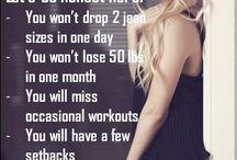 Get in shape/Diet / by Hilary Kerr