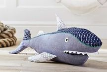 Fin-tastic Ocean Friends / We are excited to partner with Brightly to showcase our favorite shark designs and books for all ages! You can win a selection from this Fin-tastic Pin Board by clicking the link below and voting for your favorite ocean themed prize pack!   Copy and paste this link to get started: http://bit.ly/PBKSharks  / by Pottery Barn Kids