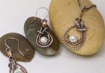 Nautical Style / Everything nautical - boats, knots, ships, plus Hand tied Bowlines and other Nautical Knots in Silver!