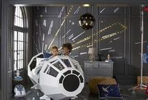#MyLittleJedi - Star Wars Collection / The Force is strong with the new Star Wars™ bed and Star Wars collection at Pottery Barn Kids. Inspired by the original films, and boasting true-to-movie details, this collection puts imagination on the horizon. They'll love acting out their favorite scenes and embarking on new adventures.