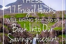Frugal Living / Painless penny pinching - saving money - frugality - frugal living