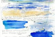 Watercolor Wonderland / Gorgeous watercolor paintings and information on painting in water color.