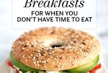 healthy Breakfast / Healthy Meal Ideas for Breakfast