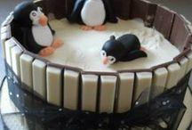 Penguin Cakes / A selection of our favourite penguin-themed cakes. For Christmas and beyond