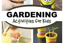 Gardening with Kids / Tips for gardening with children