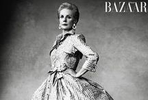 """FM Carolina Herrera ~Spring 1960's-80's~ / Carolina Herrera is a Venezuelan fashion designer, born January.8,1939. Carolina is well known for her """"exceptional personal style"""", and also for dressing First Ladies Jacqueline Onassis and Michelle Obama. She is originally from Caracas, Venezuela but eventually became a United States Citizen in 2009. Carolina's headquarters can be found here in New York City, and apart from having her own clothing line, she also has a fragrance line as well. In 2008 she was awarded the Geoffrey Beene lifetime achievement award and also """"WOMENSWEAR DESIGNER OF THE YEAR"""" in 2004. *fun fact*~ Jacqueline Kennedy Onassis was a big fan of Carolinas designs and had even asked Carolina to design a dress for her daughter Caroline's wedding."""