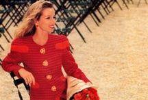 FM Carolina Herrera ~Fall 1990's~ / In the fall time of the 1990's , the dresses that Carolina designed were feminine and classy.