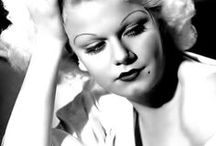 Jean Harlow - 1 / Born Harlean Harlow Carpenter, actress Jean Harlow was the first blonde bombshell of cinema. She was married three times during her short life & was nicknamed 'The Baby' by her mother. During the 1937 filming of 'Saratoga', Harlow fell ill & died but the film was completed using body doubles and released a little over a month after Harlow's death Born: March 3, 1911, Kansas City, MO Died: June 7, 1937 (age 26), Los Angeles, CA Causes of death: Renal (kidney) failure