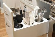 Dream Home - Kitchen Storage / Everything in it's place.