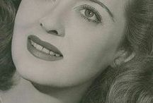 Bette Davis / Ruth Elizabeth Davis was an American actress of film, television, and theater. Regarded as one of the greatest actresses in Hollywood history, Davis was noted for her willingness to play unsympathetic characters and was reputed for her performances in a range of film genres. She married four times and had 3 children. Born - April 5, 1908 Lowell, Massachusetts Died - October 6, 1989 (aged 81) Neuilly-sur-Seine, France Cause of death - Breast cancer