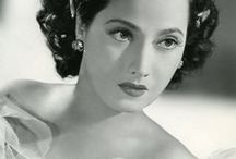 Merle Oberon / Born Estelle Merle O'Brien Thompson, Merle Oberon was an Anglo-Indian actress who ranked among the most striking performers during the early years of sound cinema in Britain. The story of her origins ranked among the most convoluted and uncertain for a Golden Age performer of her stature. Born- February 19, 1911 Bombay, India Died- November 23, 1979 (aged 68) Malibu, CA Cause of death - Stroke