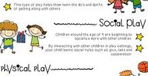 """Play is FUNdamental! Understanding the Importance of Play in Early Childhood Education / """"Play is the highest form of Research"""" -Albert Einstein  Playtime is vital to the early years of your child's life. It ignites cognitive and social-emotional development."""