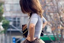 She clothes herself in... / by Lindsay Von Riesen