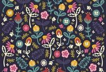 Art: Pattern/textile galore