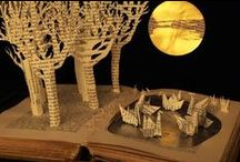Made from paper or books