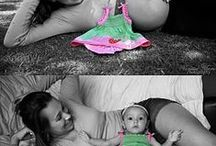 Maternity and Baby Picture Ideas