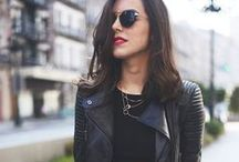 Fashion Staple: Leather Jacket / by Li Qiu