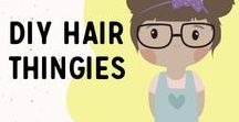DIY Hair thingies / How to create the cutest hair accessories for the Little Rangers or even mom/aunt/sister...