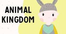 Animal Kingdom / Dogs, Kitties, Tigers oh my!