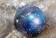 Handmade Christmas ornaments / My handmade Christmas ornaments.