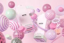 Cosmetics packaging still life