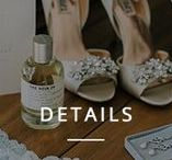 Details / Getting ready photos and beautiful bridal details of weddings including shoes, cakes, perfumes, jewelry, accessories.