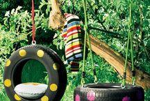 Speelhuisjes en tuinideeën
