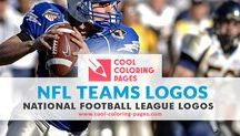 NFL Teams Logos Coloring Pages / NFL American Football Teams Logos Coloring Pages