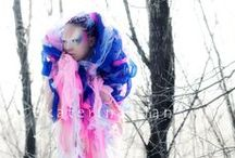 My designs / Hi, here you can see my works which hairstyle & makeup art. Designed by Ekaterina Han.