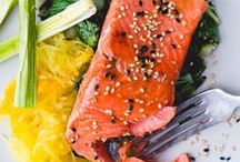 Seafood & Fish Recipes / From salmon to prawns- this board is full of healthy and mouth - watering seafood and fish recipe ideas.