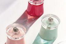 Pepper & Salt / Poivre & Sel / Les produits Peugeot de la gamme Saveurs d'Epices.